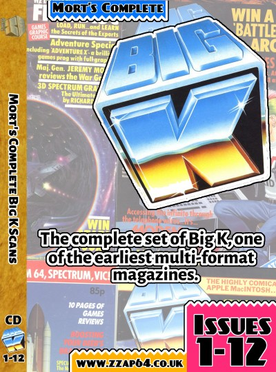 Big K DVD Case Cover