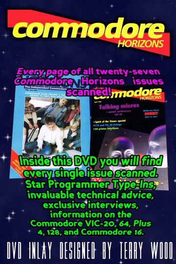 Commodore Horizons DVD Back