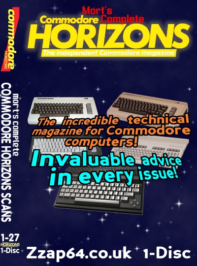 Commodore Horizons DVD Cover