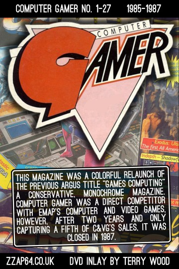 Computer Gamer DVD Back