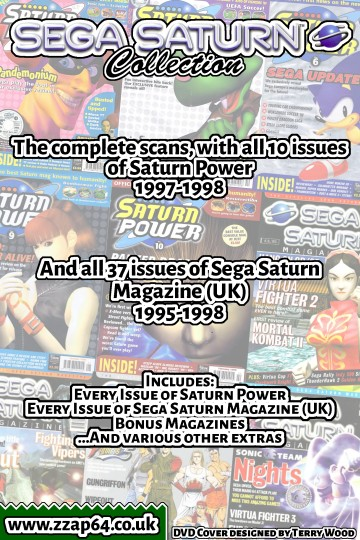 Saturn Collection DVD Back